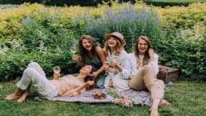 picnic con amici