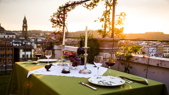 food and wine with a view esperience